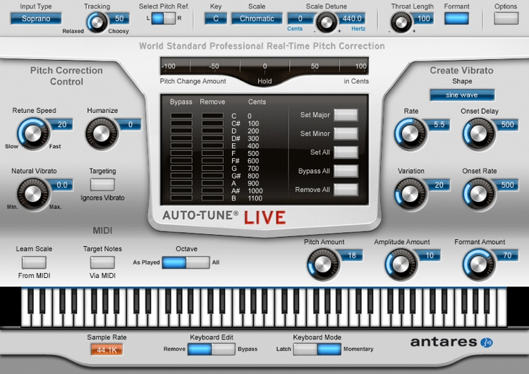 Antares Auto Tune Live Download Version WIN/MAC