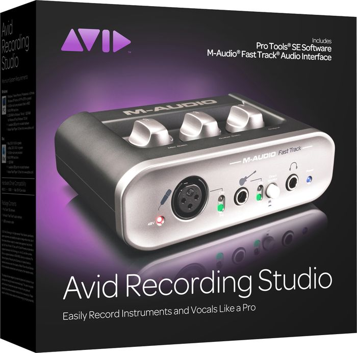 Avid Recording Studio Commercial Version