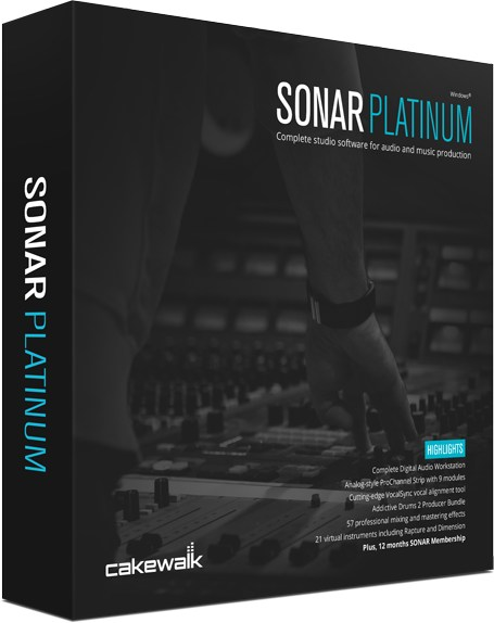 Cakewalk Sonar Platinum WIN