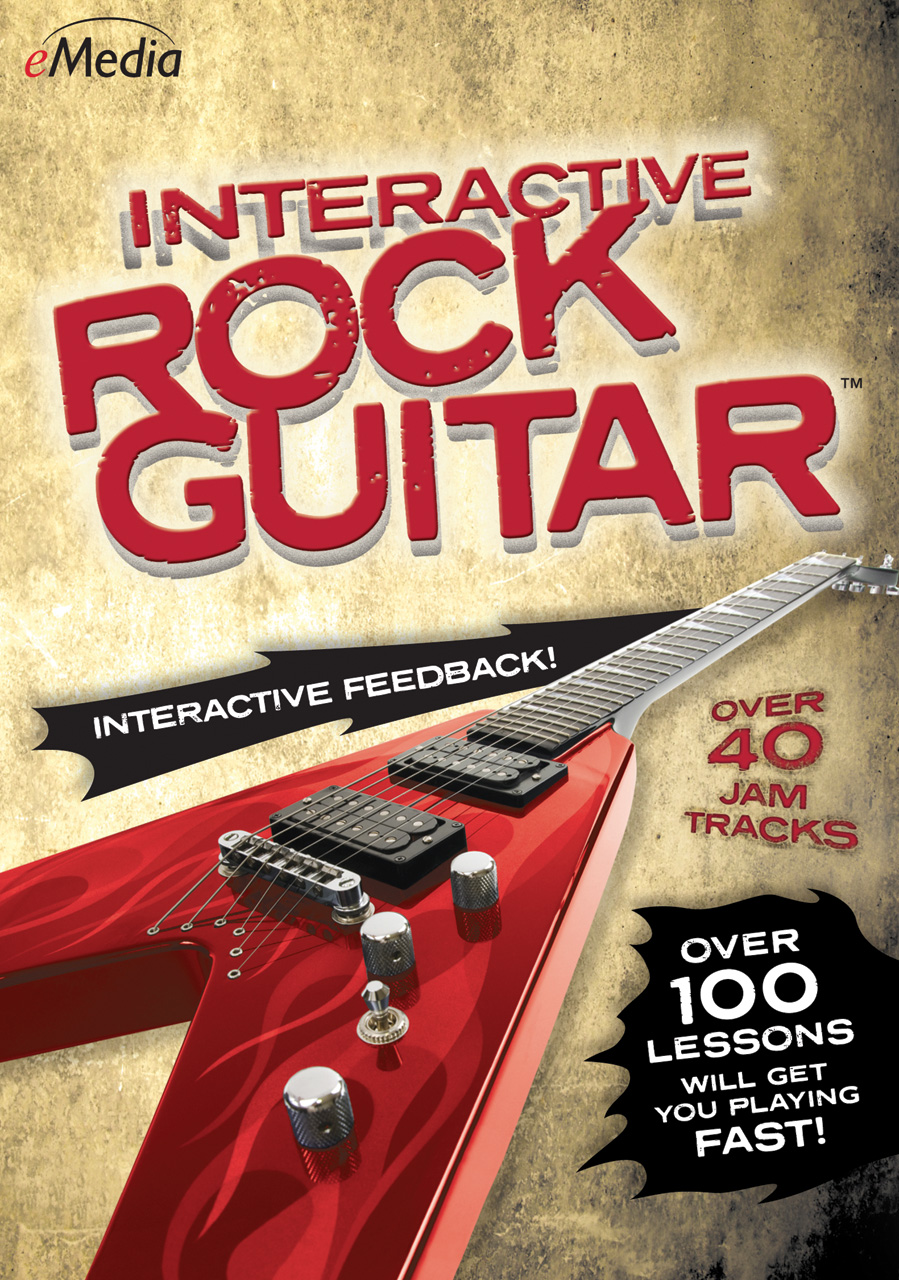 Emedia Interactive Rock Guitar Download Version WIN or MAC