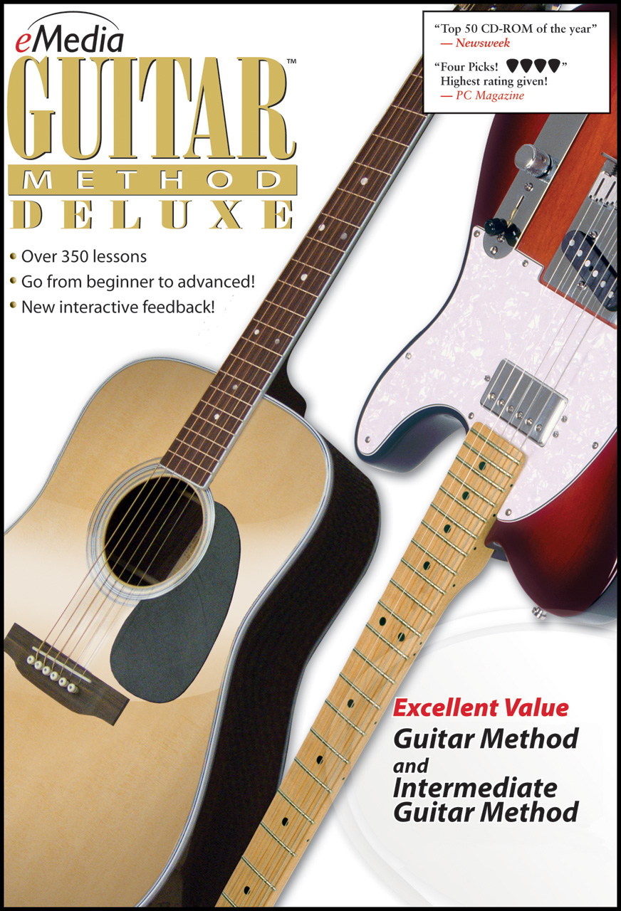 Emedia Guitar Method Deluxe Download Version WIN or MAC