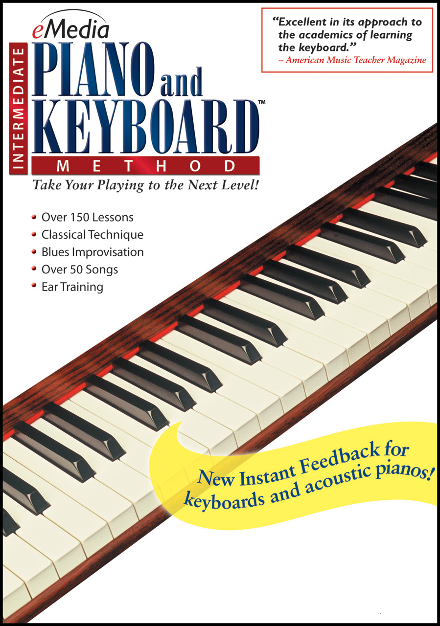 EMedia Piano & Keyboard Method Download Version WIN or MAC