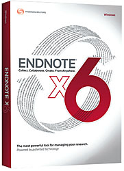 Thomson Researchsoft Endnote X6 Student WIN or MAC