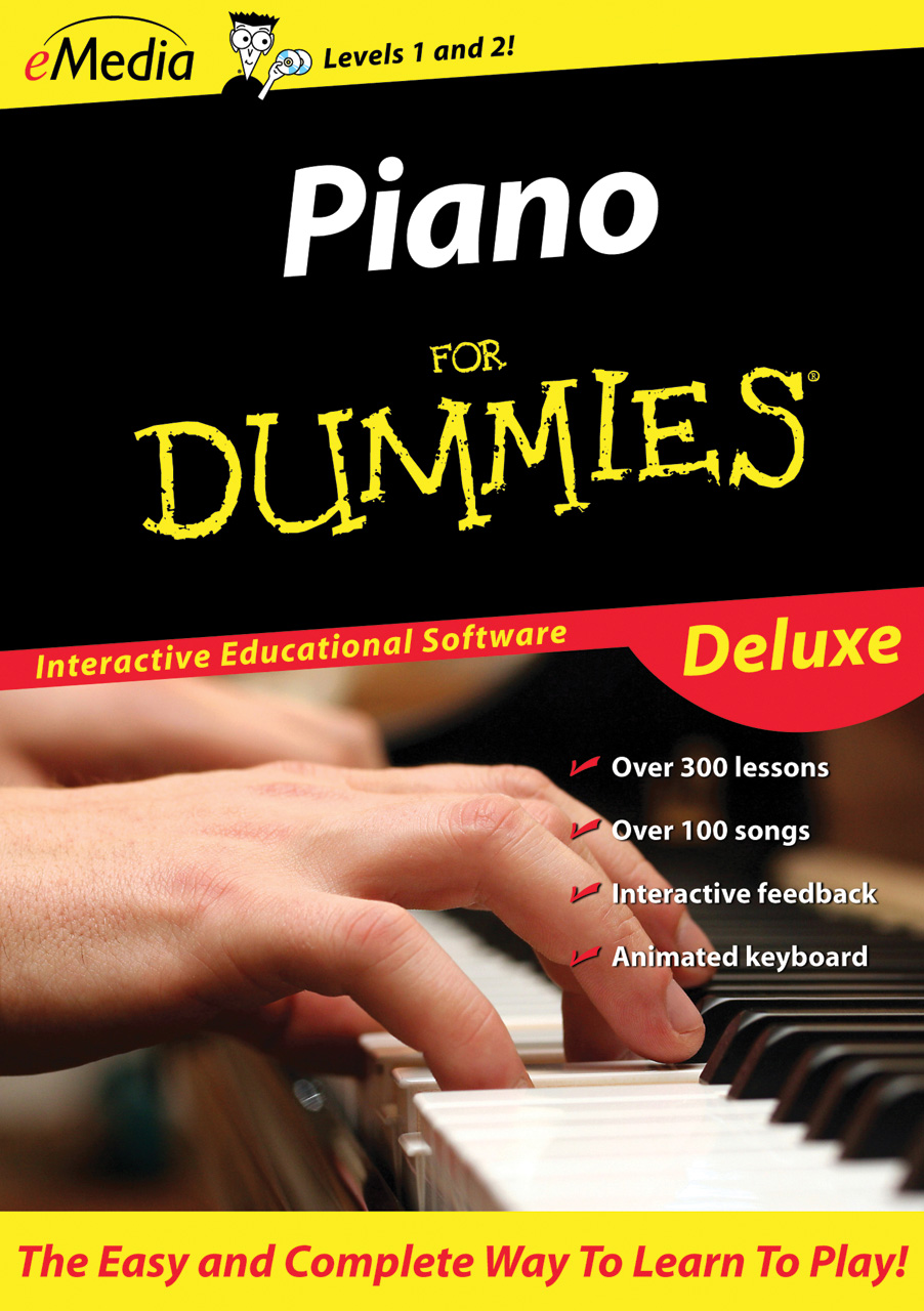 EMedia Piano for Dummies Deluxe Download Version WIN or MAC