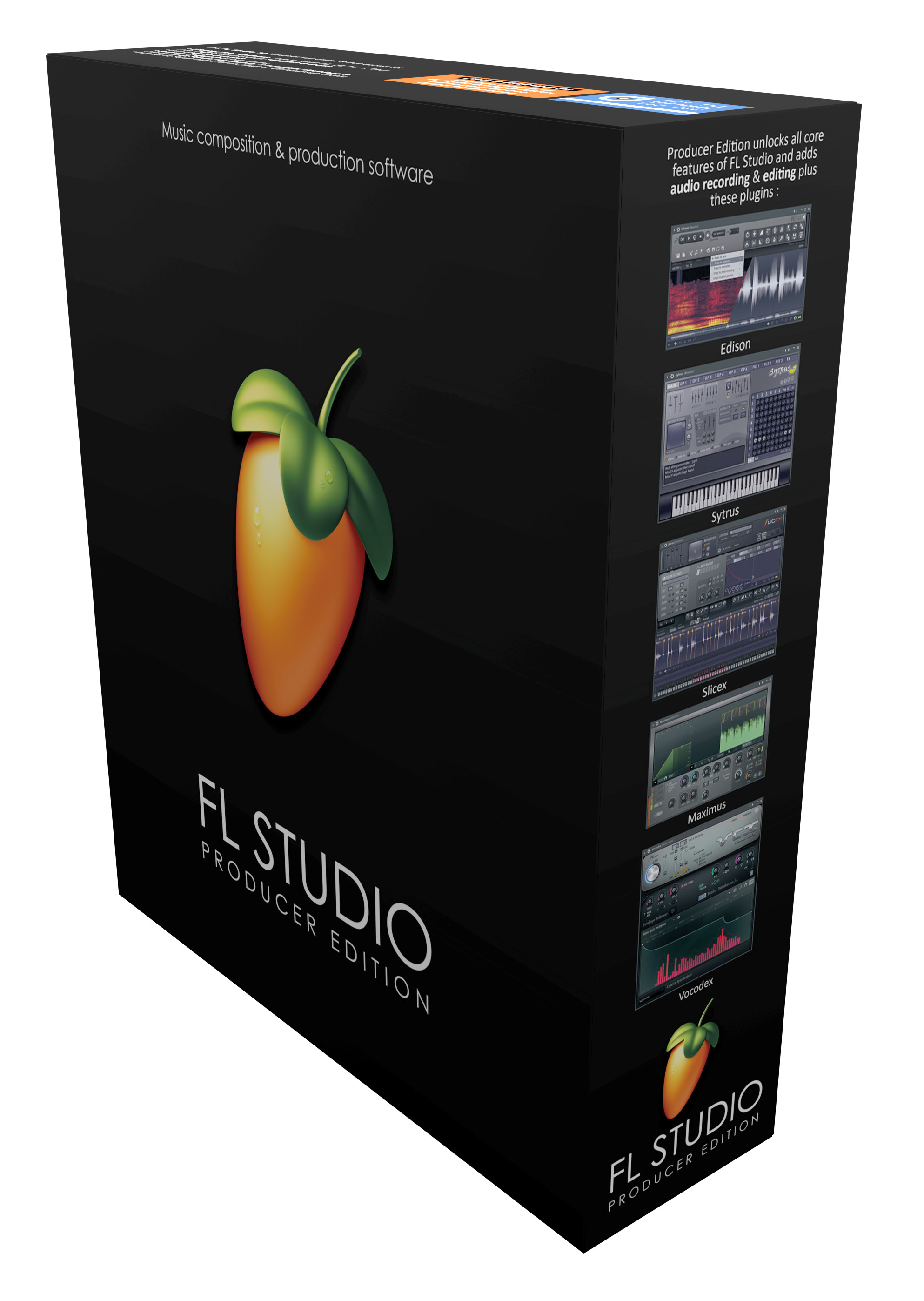 FL Studio Fruity Loops 12 Producer Edition WIN