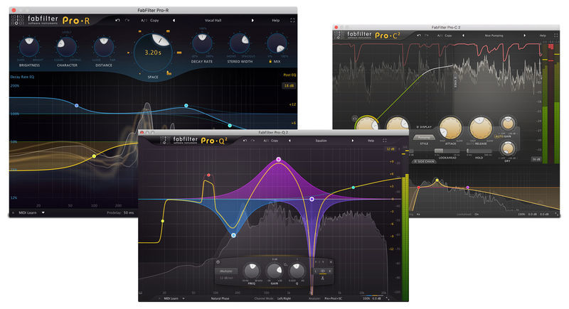 Fab Filter Essential Bundle WIN/MAC Download Version