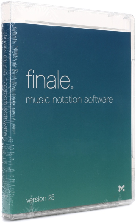 Finale 25 Music Notation WIN/MAC