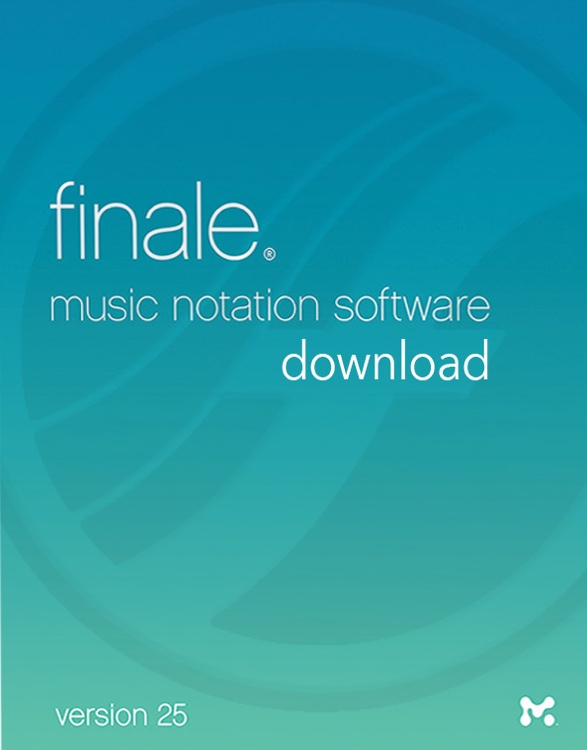 Finale 25 EDU Download Version WIN/MAC