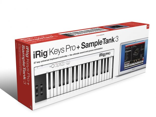 IK Multimedia Irig Keys + Sampletank 3 Bundle
