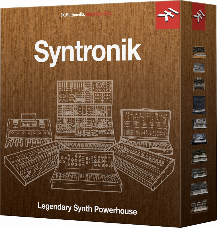 IK Multimedia Syntronik Synth Download Version WIN/MAC