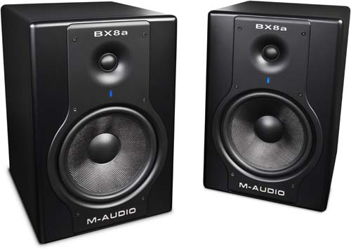 M-Audio BX8A Deluxe Studio Monitors 2.0