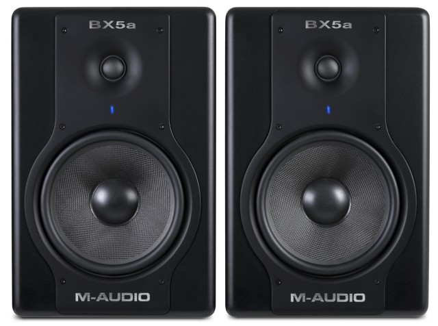 M-Audio BX5A Deluxe Studio Monitors 2.0