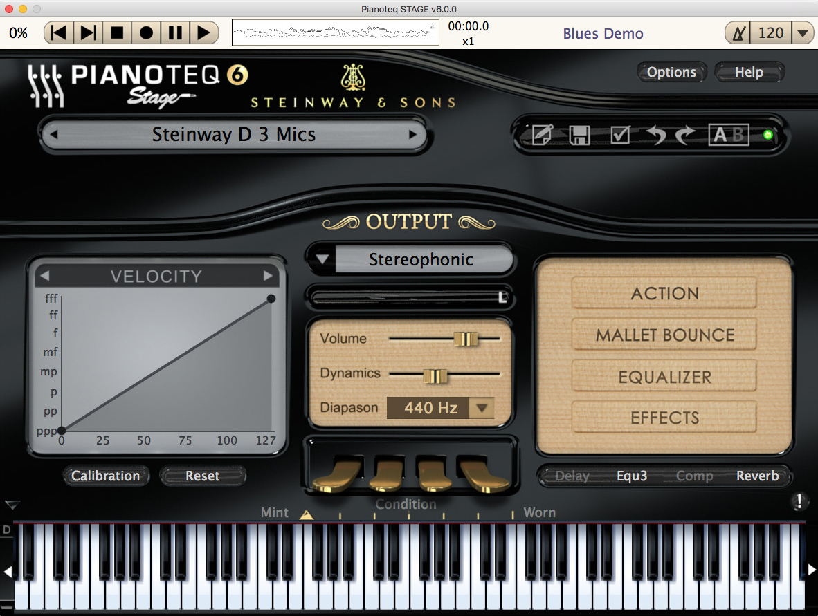 Pianoteq Stage 6 WIN/MAC Download Version