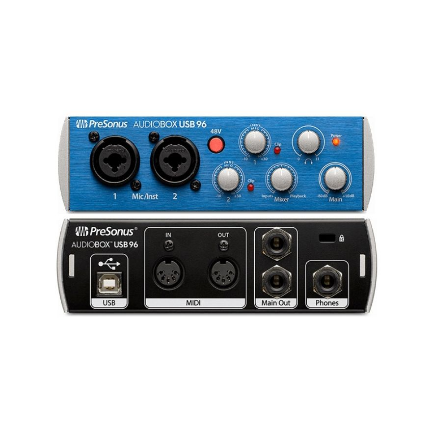 Presonus Audiobox USB 96 Audio Midi Interface