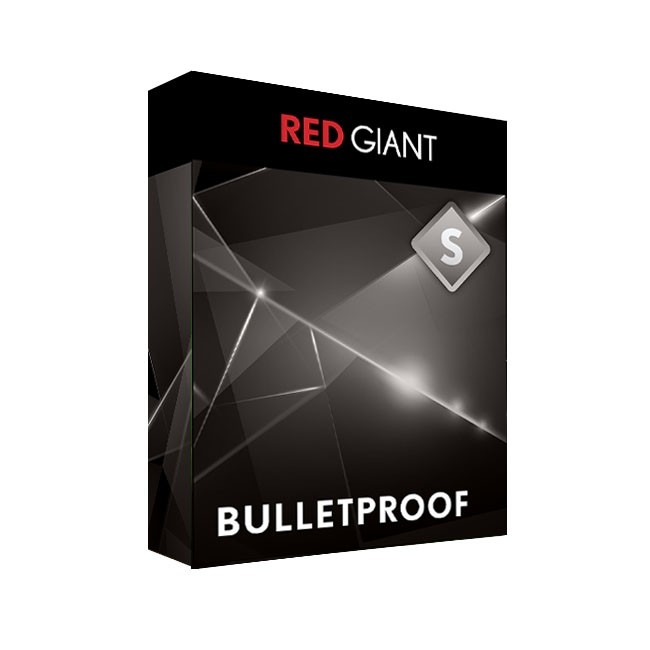 Red Giant Bullet Proof Electronic Version WIN/MAC EDU