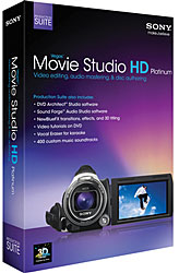 Sony Vegas Movie Studio Platinum 11.0 Production Suite WIN