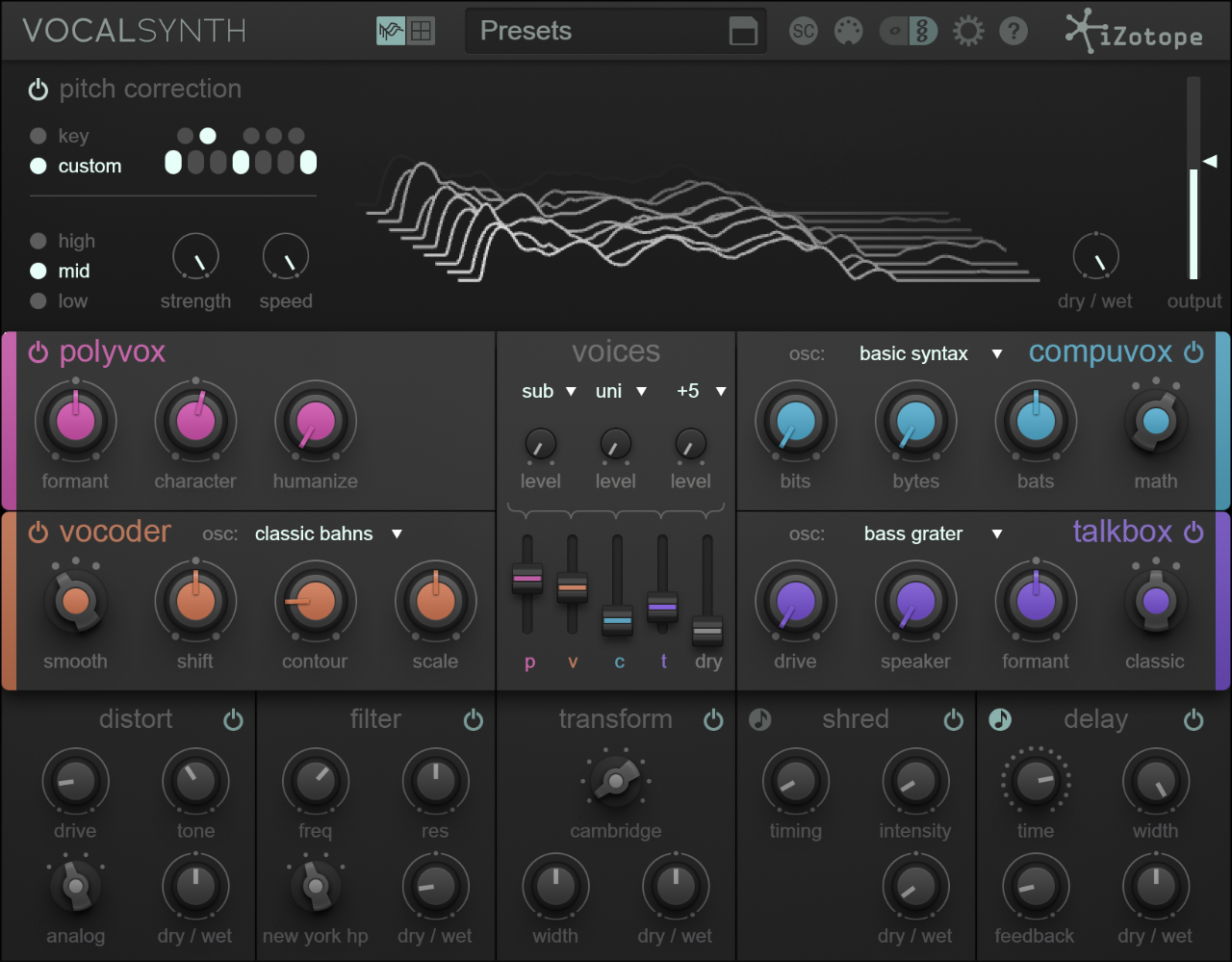 iZotope Vocal Synth 2 Download Version WIN/MAC