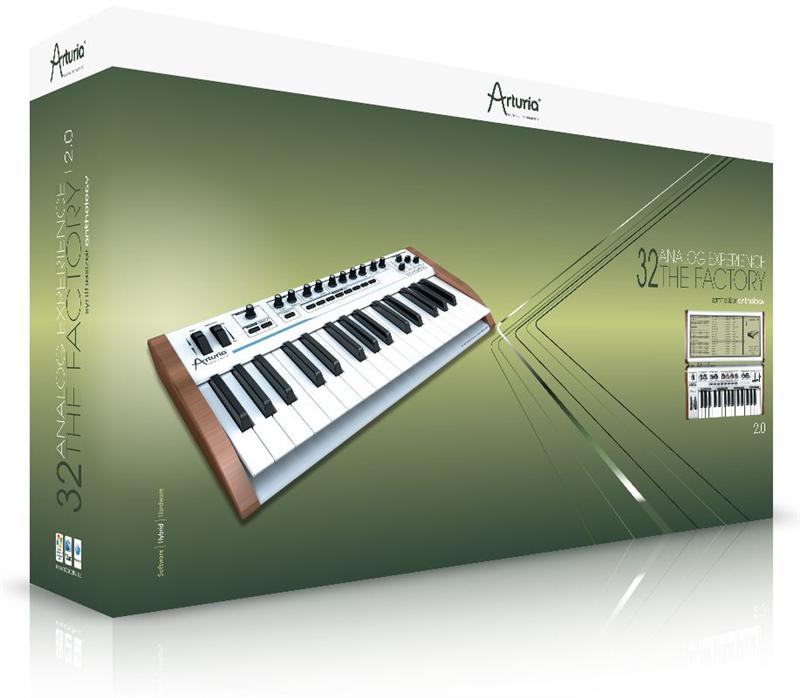 Arturia Analog Experience The Factory + Keyboard WIN/MAC