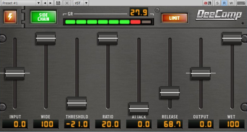 Dotec Audio DeeComp WIN/MAC Download Version