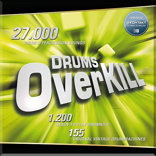 Best Service Drums Overkill WIN/MAC Download Version