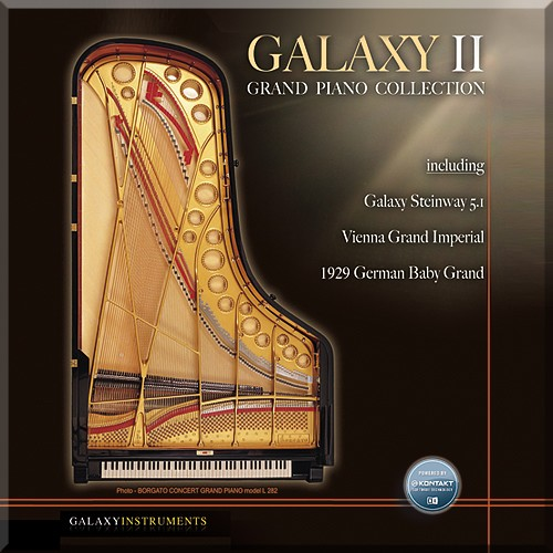 Best Service Galaxy II Piano Collection WIN/MAC Download Version