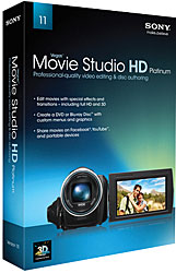 Sony Vegas Movie Studio HD Platinum 11.0 WIN