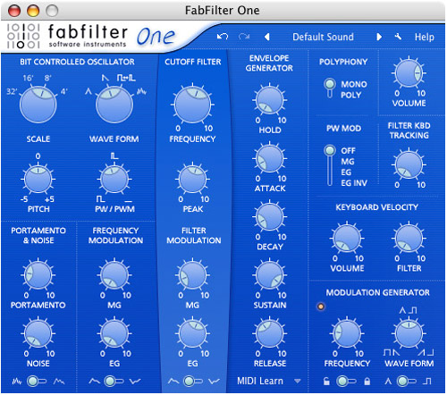 Fab Filter One WIN/MAC Download Version