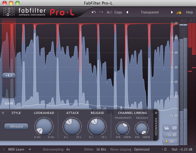 Fab Filter Mastering Bundle WIN/MAC Download Version