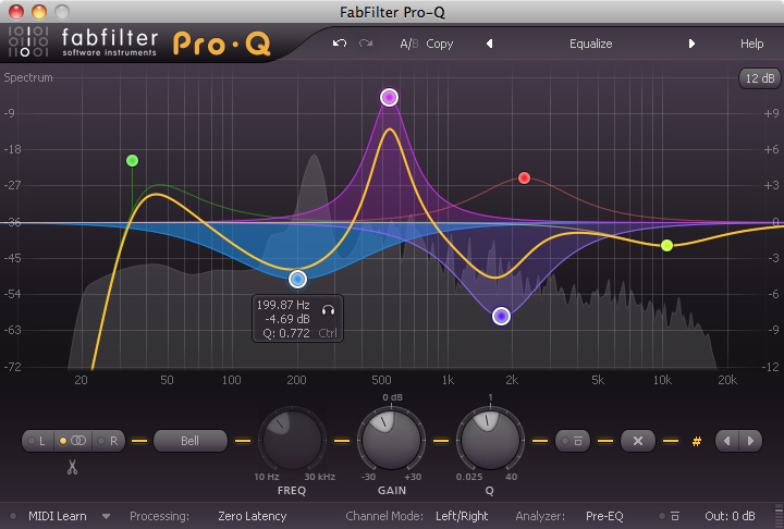 Fab Filter Mixing Bundle WIN/MAC Download Version