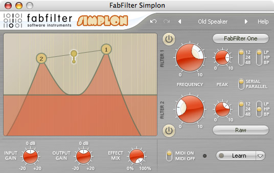 Fab Filter Simplon WIN/MAC Download Version